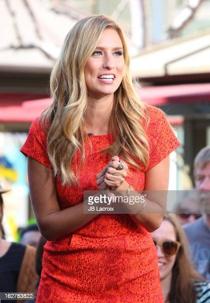 Renee Bargh is seen at The Grove on February 26 2013 in Los Angeles California