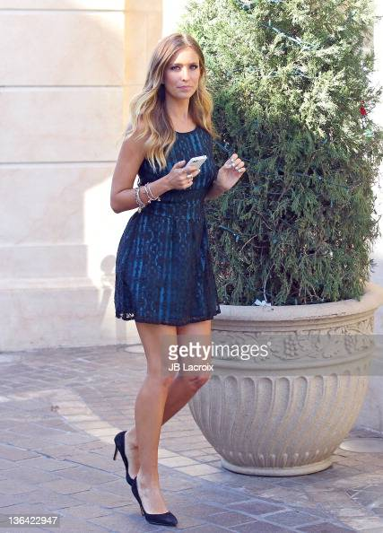 Renee Bargh is seen at The Grove on January 4 2012 in Los Angeles California