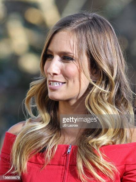Renee Bargh is seen at The Grove on January 9 2012 in Los Angeles California