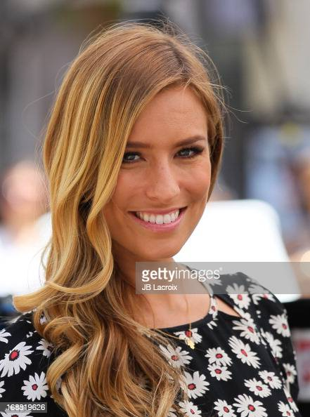 Renee Bargh is seen at The Grove on May 15 2013 in Los Angeles California