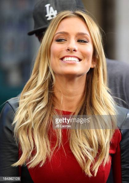 Renee Bargh is seen at The Grove on October 18 2012 in Los Angeles California