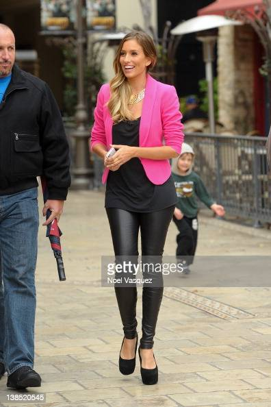 Renee Bargh sighting at The Grove on February 7 2012 in Los Angeles California