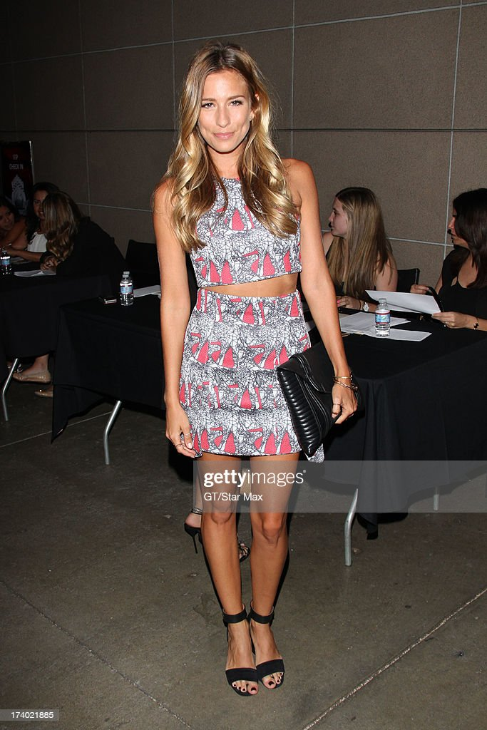 Renee Barghis seen on July 18, 2013 in Los Angeles, California.