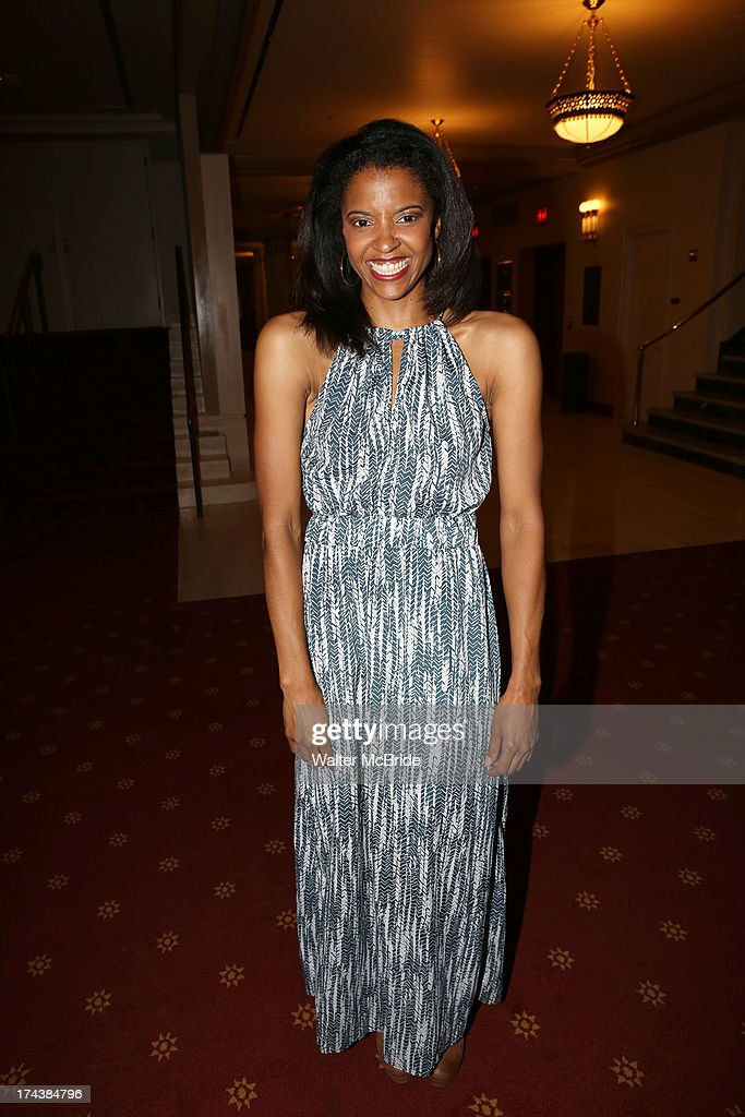 Renee Elise Goldsberry attends the Opening Night Performance Reception for the Encores! Off-Center Production of 'I'm Getting My Act Together And Taking It On The Road' Opening Night Reception at New York City Center on July 24, 2013 in New York City.