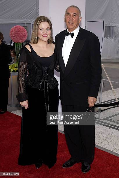 Renee Fleming and Frank Langella during Los Angeles Opera's Placido Domingo Friends Concert Gala at Dorothy Chandler Pavilion in Los Angeles...