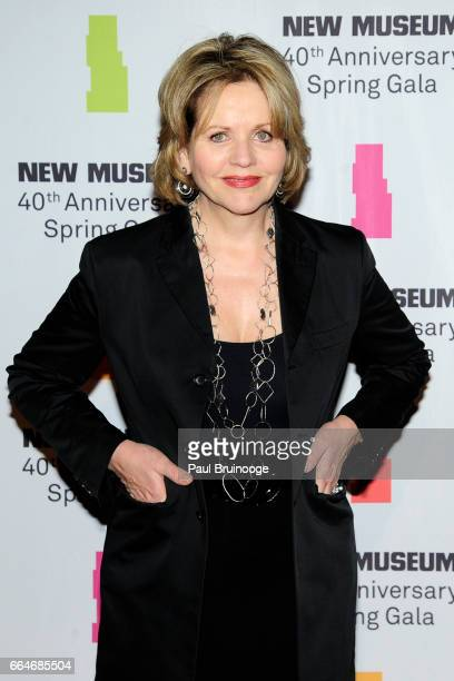 Renee Fleming attends the New Museum 40th Anniversary Spring Gala at Cipriani Wall Street on April 4 2017 in New York City