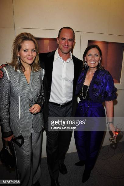 Renee Fleming Chris Meloni and Ann Ziff attend Tamsen Z Store Opening Event at Tamsen Z Boutique NYC on September 21 2010 in New York City