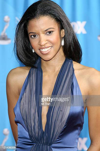 Renee Goldsberry during 38th Annual NAACP Image Awards Arrivals at Shrine Auditorium in Los Angeles California United States