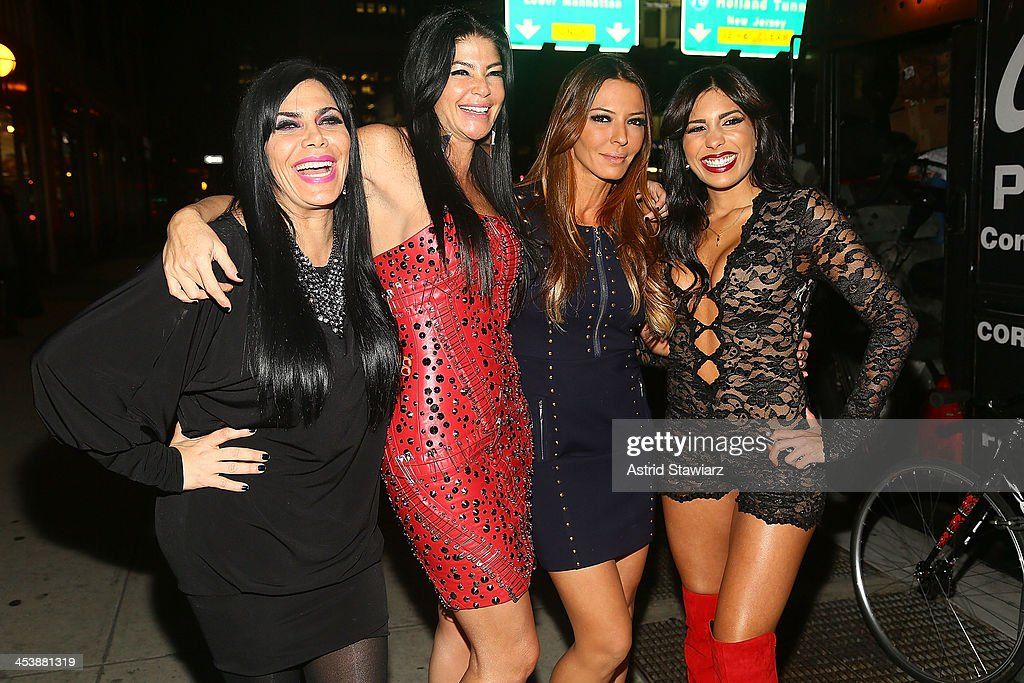 <a gi-track='captionPersonalityLinkClicked' href=/galleries/search?phrase=Renee+Graziano&family=editorial&specificpeople=7643222 ng-click='$event.stopPropagation()'>Renee Graziano</a>, Alicia DiMichele Garofalo, Drita D'Avanzo and Natalie Guercio attend 'Mob Wives' Season 4 premiere at Greenhouse on December 5, 2013 in New York City.