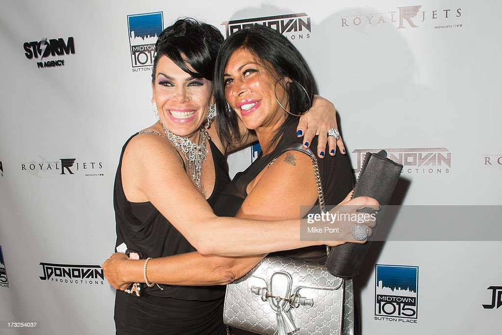 <a gi-track='captionPersonalityLinkClicked' href=/galleries/search?phrase=Renee+Graziano&family=editorial&specificpeople=7643222 ng-click='$event.stopPropagation()'>Renee Graziano</a> and Angela 'Big Ang' Raiola attend <a gi-track='captionPersonalityLinkClicked' href=/galleries/search?phrase=Renee+Graziano&family=editorial&specificpeople=7643222 ng-click='$event.stopPropagation()'>Renee Graziano</a>'s Celebrity Dinner Party at Midtown 1015 on July 10, 2013 in New York City.