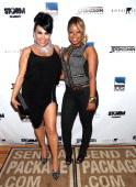 Renee Graziano and Shay Johnson attendRenee Graziano's Celebrity dinner party at Midtown 1015 on July 10 2013 in New York City
