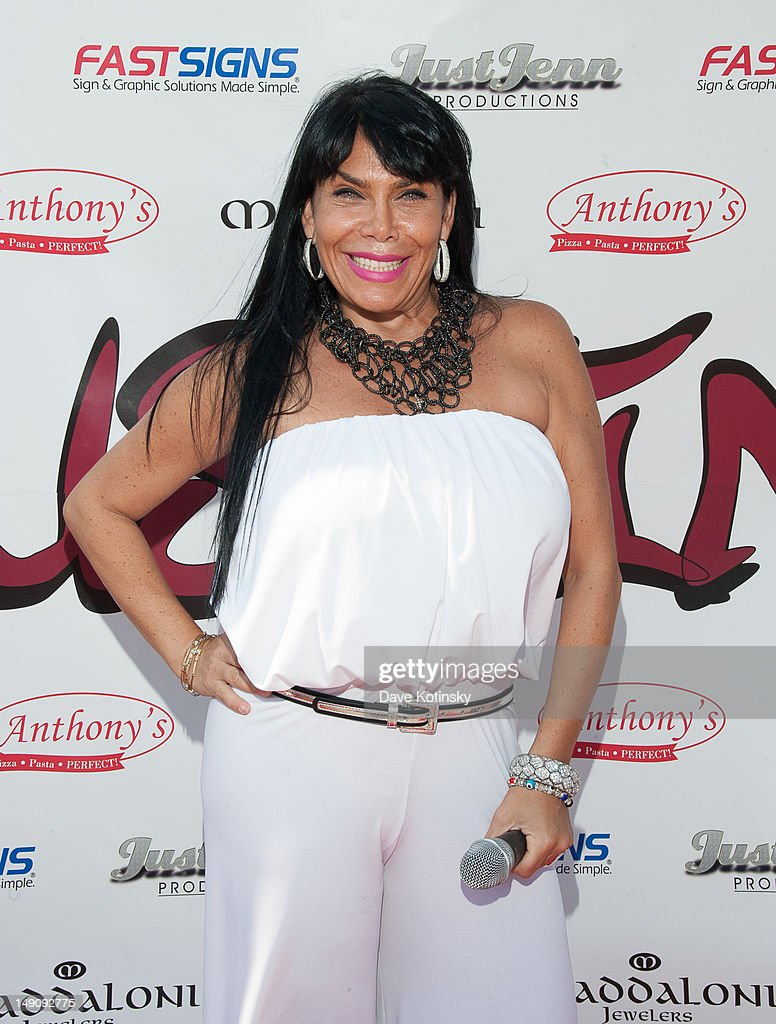 Renee Graziano at Drunken Monkey on July 22, 2012 in New York City.