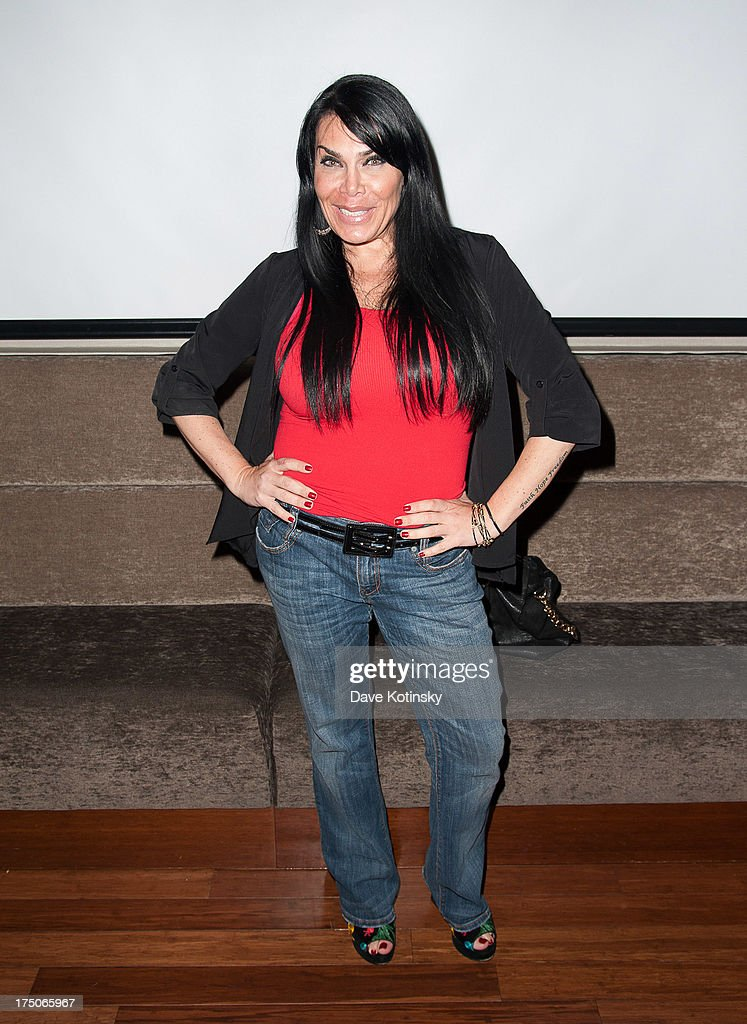 <a gi-track='captionPersonalityLinkClicked' href=/galleries/search?phrase=Renee+Graziano&family=editorial&specificpeople=7643222 ng-click='$event.stopPropagation()'>Renee Graziano</a> attends dinner and a movie at KTCHN Restaurant on July 30, 2013 in New York City.