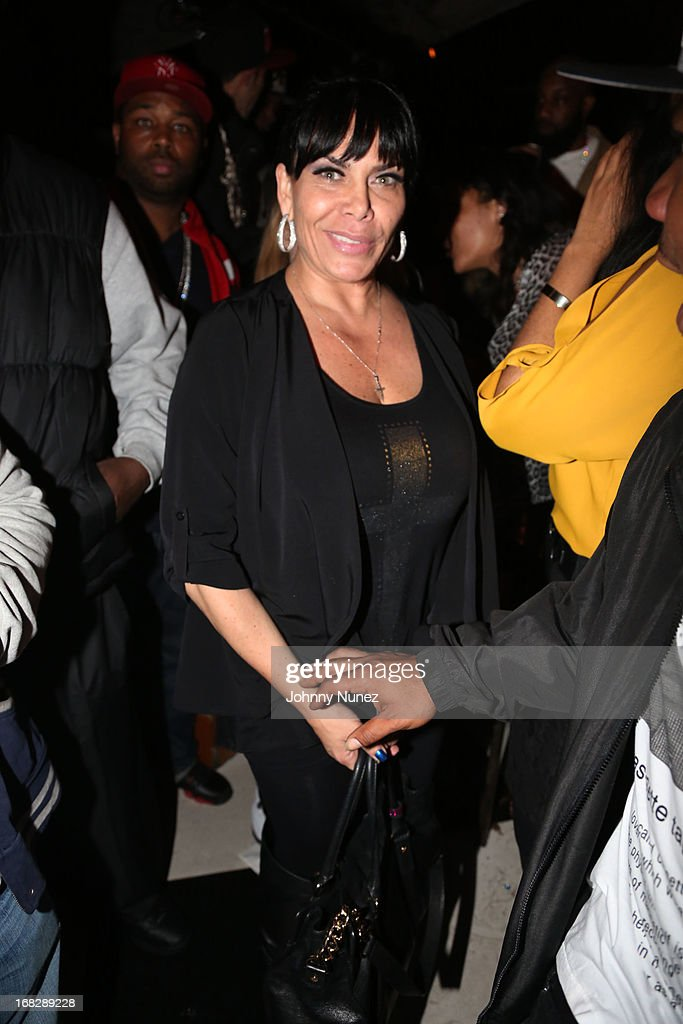 <a gi-track='captionPersonalityLinkClicked' href=/galleries/search?phrase=Renee+Graziano&family=editorial&specificpeople=7643222 ng-click='$event.stopPropagation()'>Renee Graziano</a> attends the French Montana Album listening party at HiLo on May 7, 2013 in New York City.