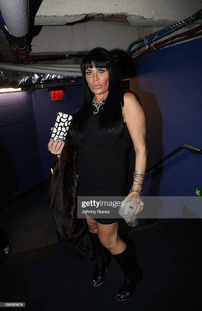 Renee Graziano attends 'T.I. In Concert' at Best Buy Theater on December 18, 2012 in New York, United States.
