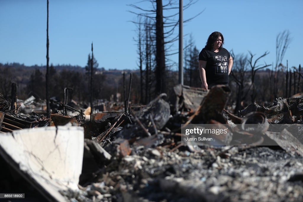 Structures Destroyed By California Wine Country Wildfires Rises To 8400