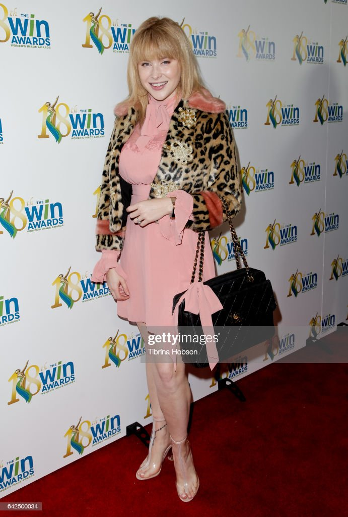 Renee Olstead attends the 18th Annual Women's Image Awards at Skirball Cultural Center on February 17, 2017 in Los Angeles, California.