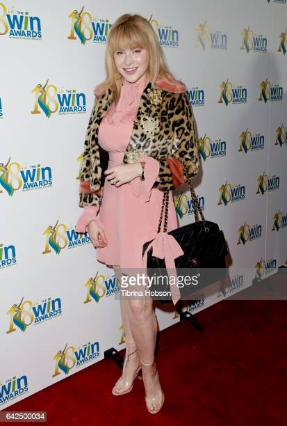Renee Olstead attends the 18th Annual Women's Image Awards at Skirball Cultural Center on February 17 2017 in Los Angeles California