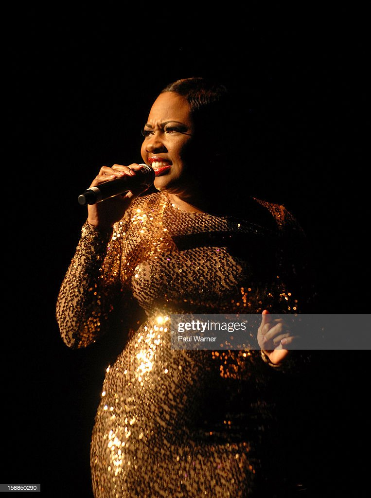 L'Renee performs as a opening act for Kem at the Fox Theatre on December 31, 2012 in Detroit, Michigan.