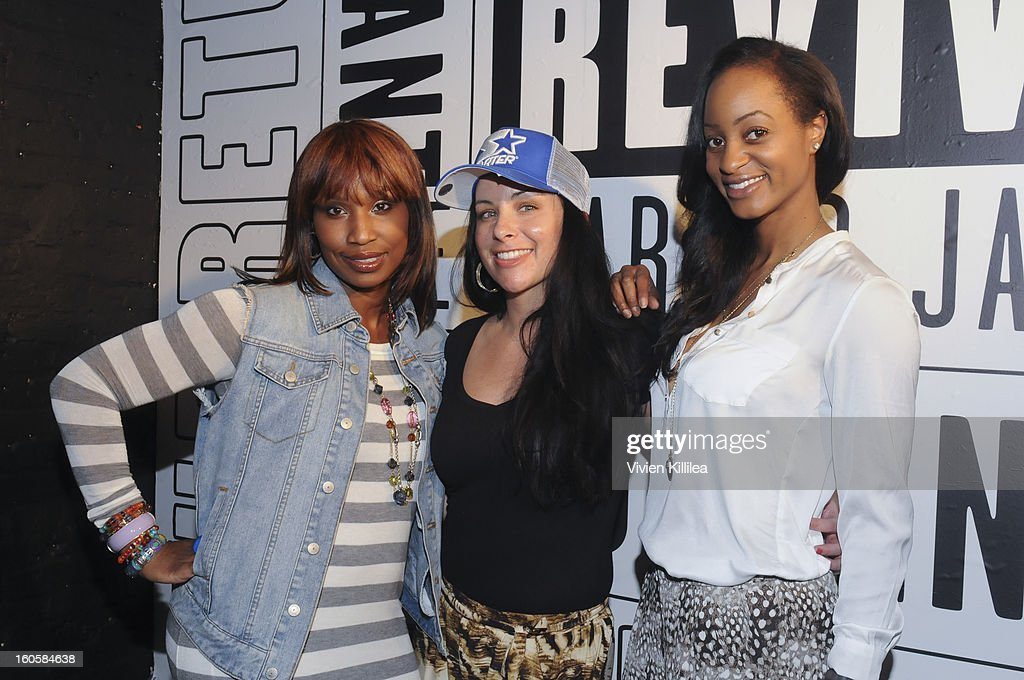 Renee Reese, Marie Keeler and Ngum Suh attend Starter Parlor - Super Bowl XLVII on February 2, 2013 in New Orleans, Louisiana.