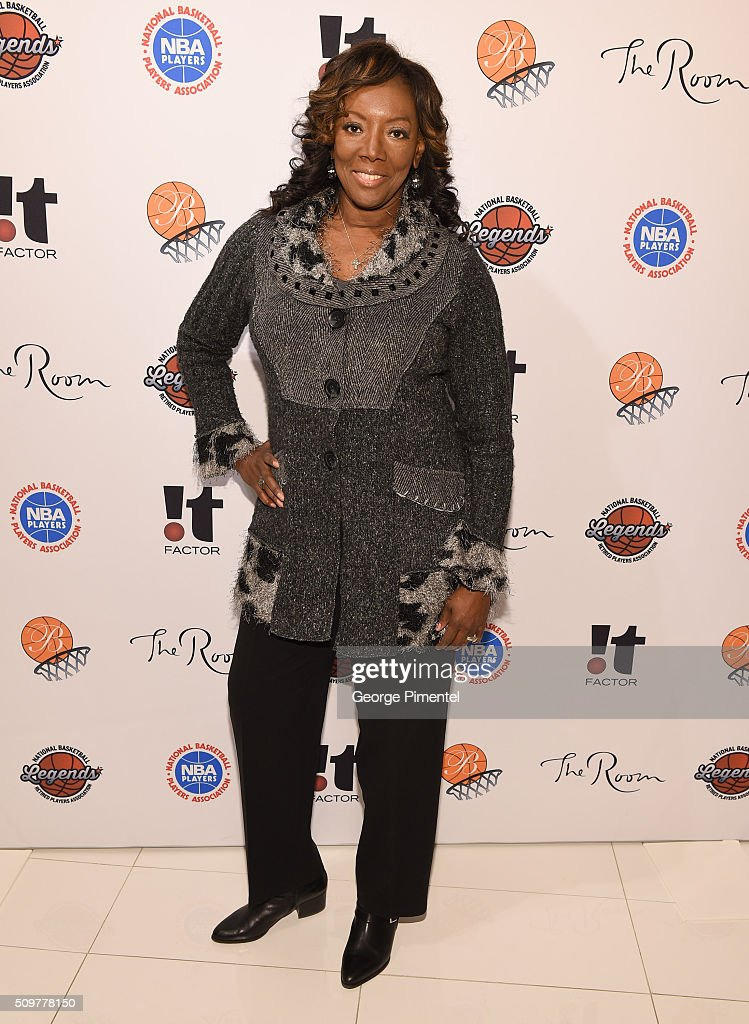 Renee Taplin-Jones attends the Hudson's Bay Celebrates NBA All Star Weekend With Shopping Event In Support Of Behind The Bench And KickKids Hospital Foundation at The Room, Hudson's Bay on February 12, 2016 in Toronto, Canada.