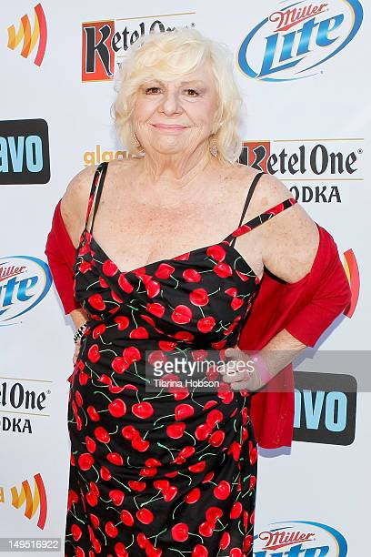 Renee Taylor attends GLAAD's 'Bravo Top Chef Invasion' benefit event at a private residence on July 29 2012 in Los Angeles California