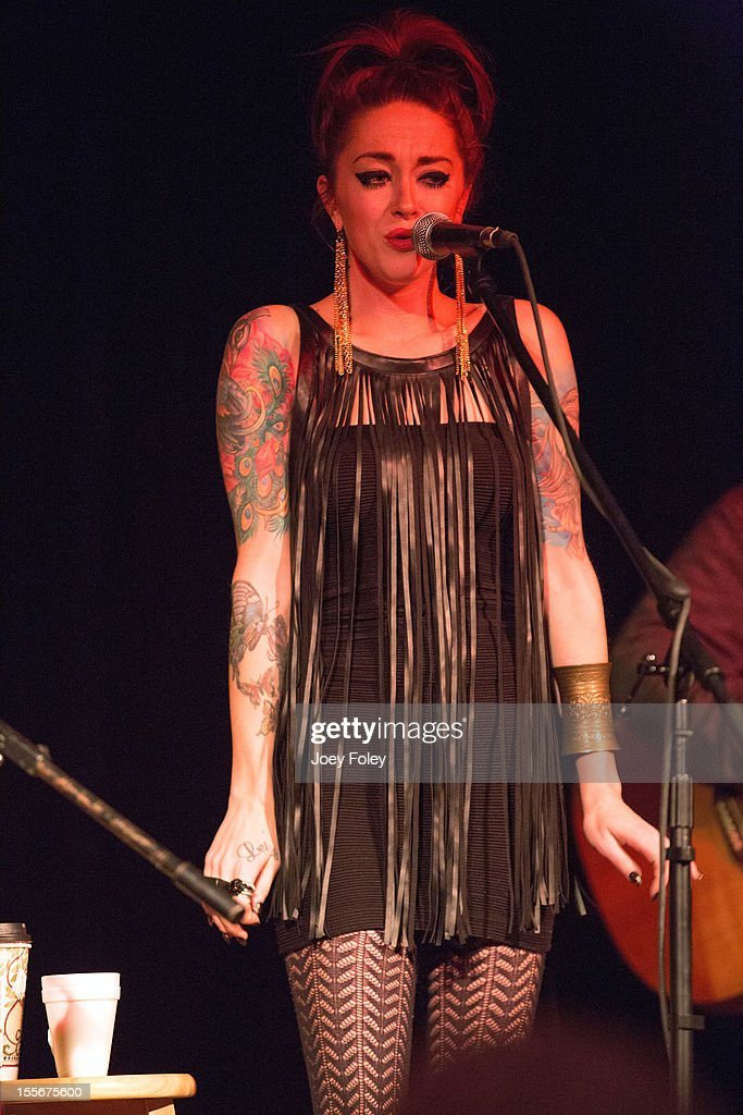 Renee Yohe of Bearcat performs at The Irving Theater on November 4, 2012 in Indianapolis, Indiana.