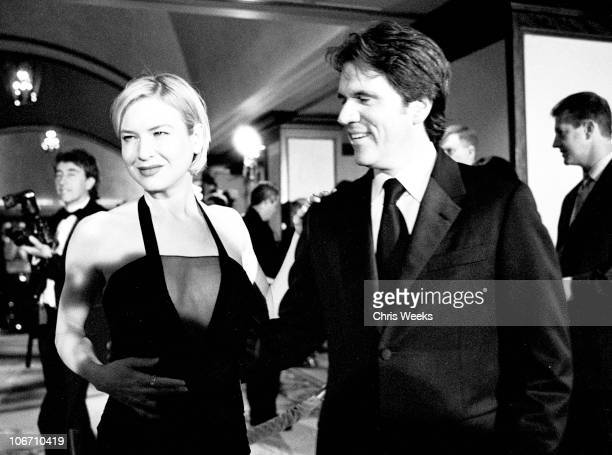 Renee Zellweger and Rob Marshall during The 55th Annual Directors Guild of America Awards Black White Photography by Chris Weeks at Century Plaza...