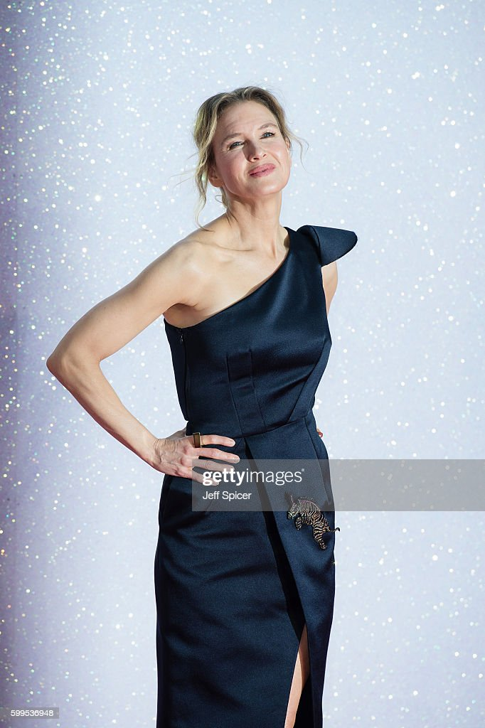 Renee Zellweger arrives for the World premiere of 'Bridget Jones's Baby' at Odeon Leicester Square on September 5, 2016 in London, England.