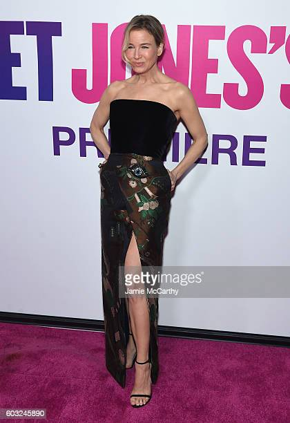 Renee Zellweger attends the 'Bridget Jones Baby' New York Premiere at Paris Theater on September 12 2016 in New York City