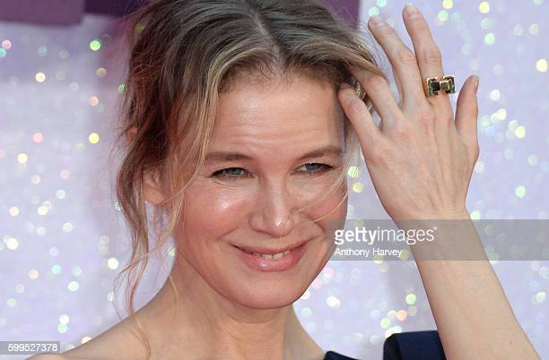 Renee Zellweger attends the World premiere of 'Bridget Jones's Baby' at Odeon Leicester Square on September 5 2016 in London England