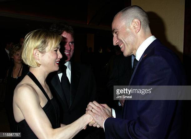 Renee Zellweger Daniel Day Lewis during 55th Annual Directors Guild Of America Awards at Century Plaza Hotel in Century City California United States