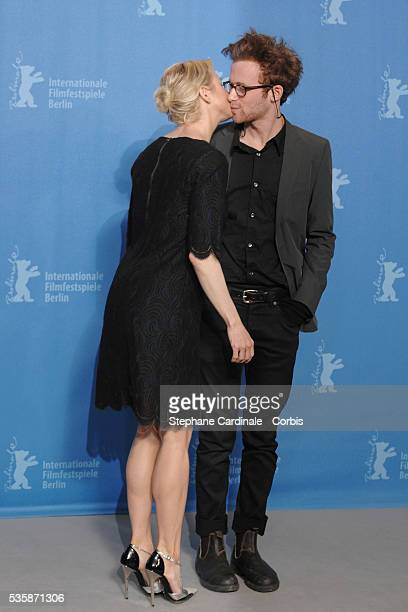 Renee Zellweger Mark Rendall at the photo call for 'My One and Only' at the 59th Berlin Film Festival