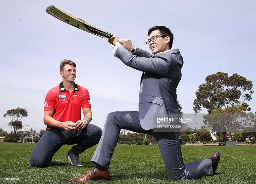 Melbourne Renegades Big Bash League Launch