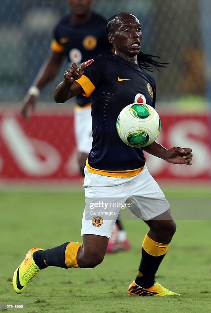 Reneilwe Letsholonyane of Kaizer Chiefs during the Absa Premiership match between Golden Arrows and Kaizer Chiefs at Moses Mabhida Stadium on December 19, 2013 in Durban, South Africa.