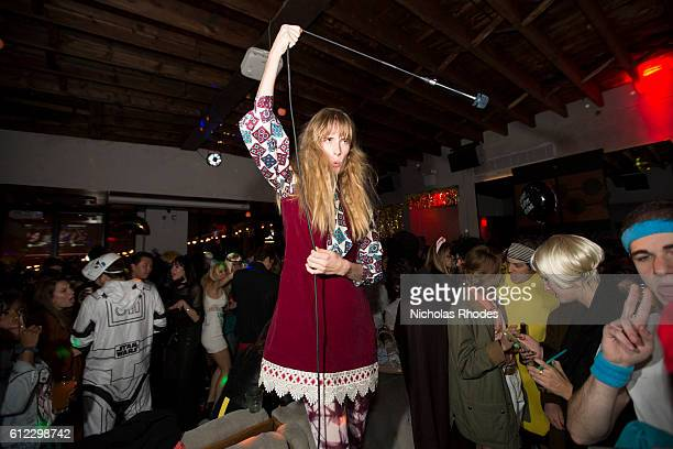 reni lane performs disco at the deadly disco halloween party freehold brooklyn on october 31 2015 - Halloween Parties Brooklyn