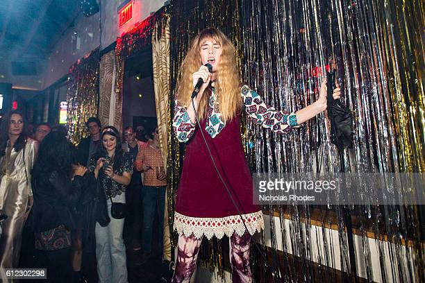reni lane performs disco at the deadly disco halloween party freehold brooklyn on october 31 2015 - Brooklyn Halloween Party