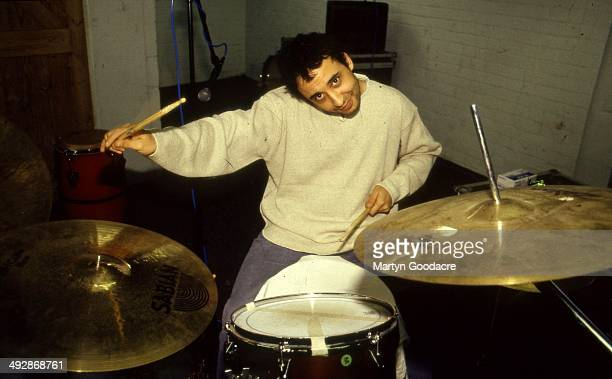 Reni of the Stone Roses during a rehearsal in Manchester United Kingdom 1994