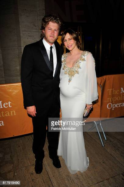 Renn Hawkey and Vera Farmiga attend Metropolitan Opera season opens with DAS RHEINGOLD redcarpet arrivals at Metropolitan Opera House Lincoln Center...