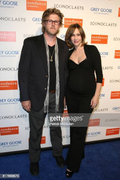 Renn Hawkley and Vera Farmiga attend GREY GOOSE ENTERTAINMENT presents the Launch Party For The Fifth Season of ICONOCLASTS at LAVO on September 21...