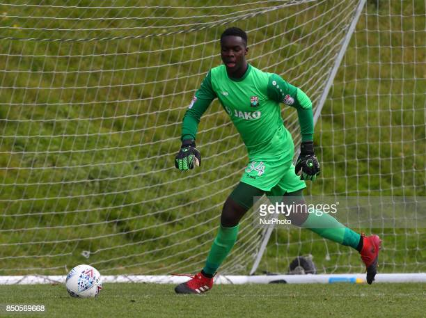 Rennell McKenzieLyle of Barnet during Central League Cup match between Barnet Under 23s and Southend United Under 23s at Barnet Training Ground...