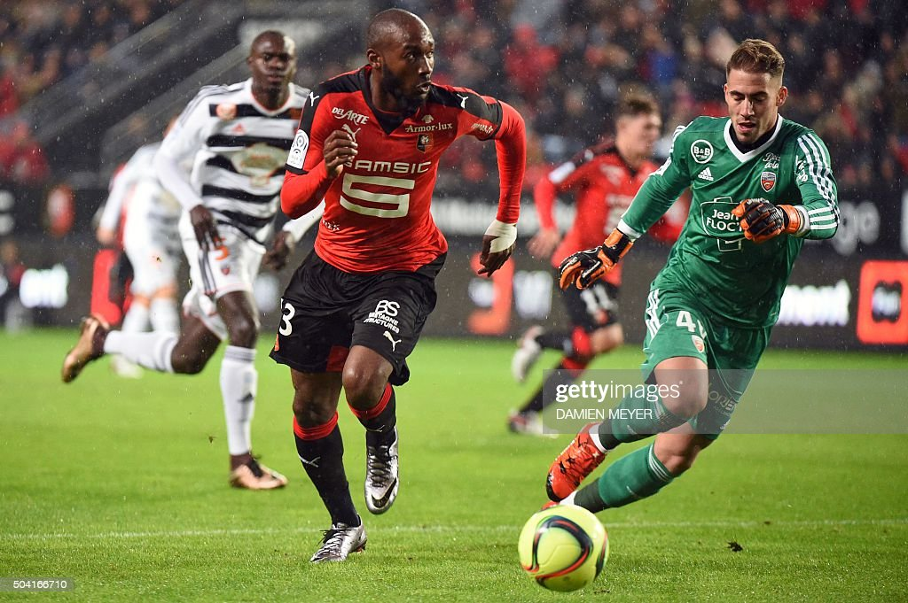 Stade rennes v fc lorient ligue 1 getty images for Lorient match