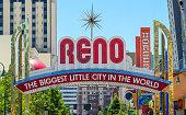 Reno arch sign in Reno, Nevada