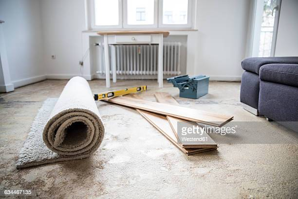 Renovation of a living room