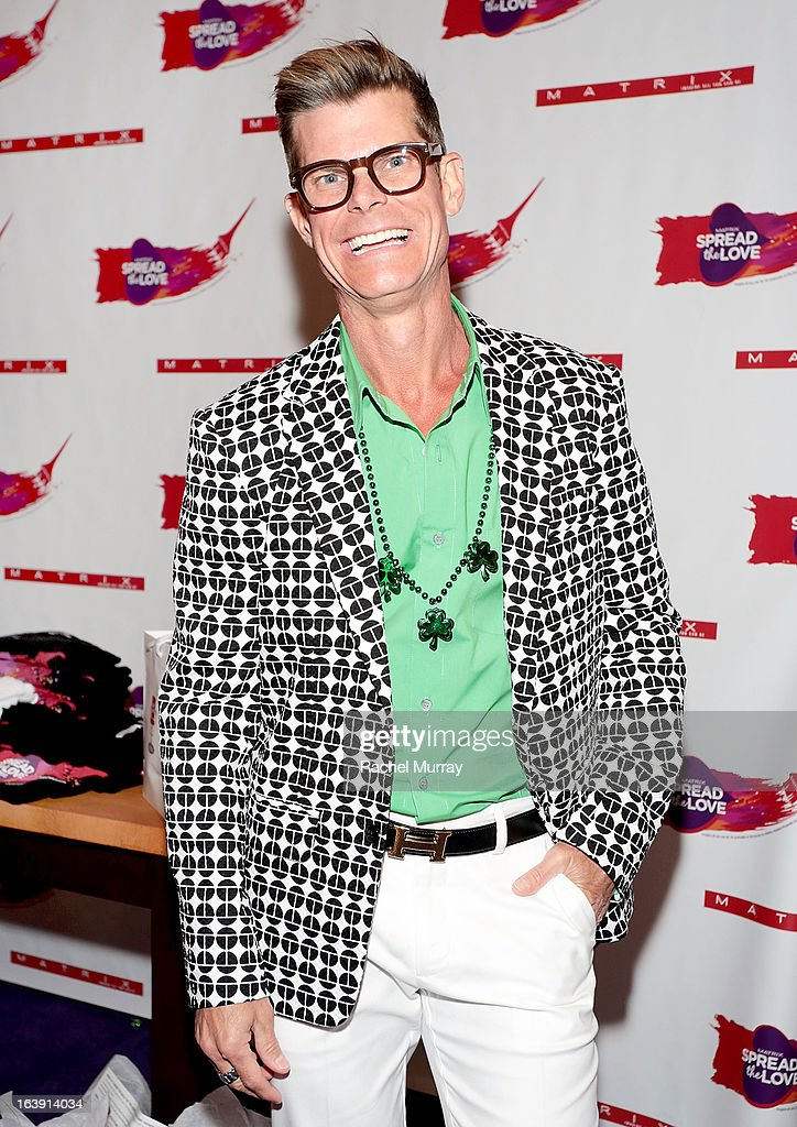 Renowned Beverly Hills hairstylist Lenny Strand attends the Bash To Banish Bullying Benefiting It Gets Better, A Matrix Chairs Of Change Event - Day 2at Saguaro Hotel on March 17, 2013 in Palm Springs, California.