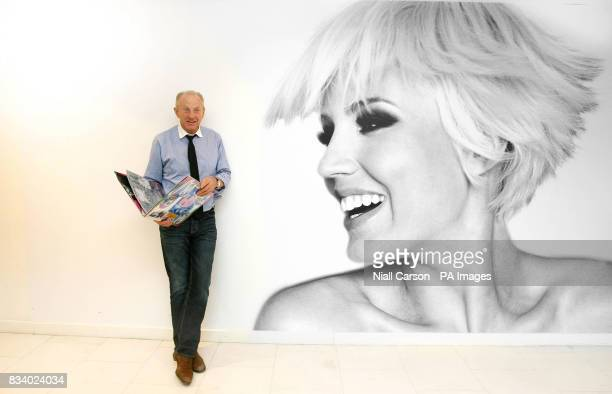 Renowned Irish designer Paul Costelloe viewing fashion students' entries for the 10000 euro Persil Fashion Awards 2008 in Dunnes Stores Henry St...