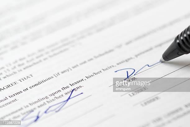 Mietvertrag
