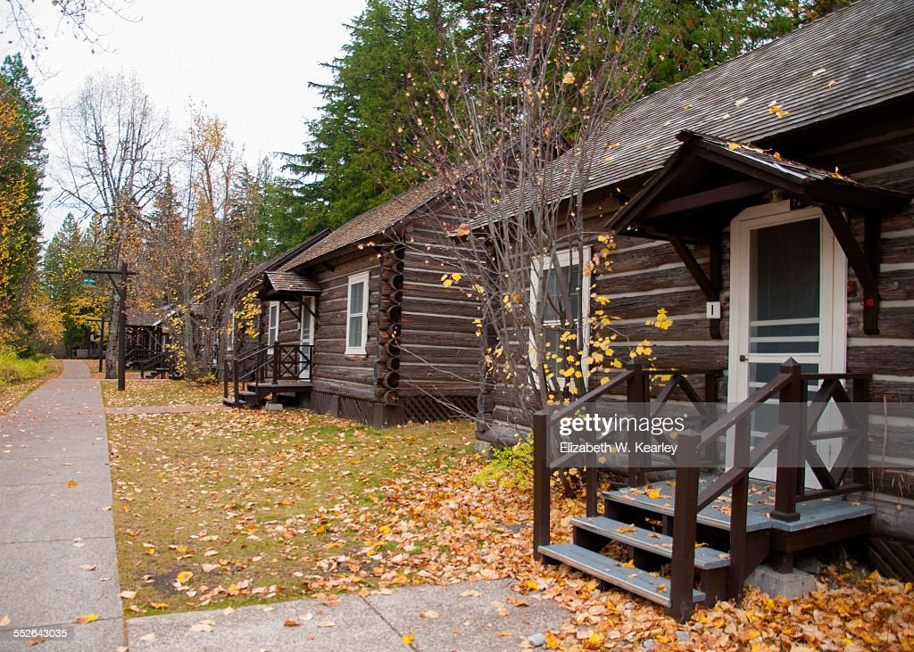rental cabins at lake mcdonald lodge glacier national