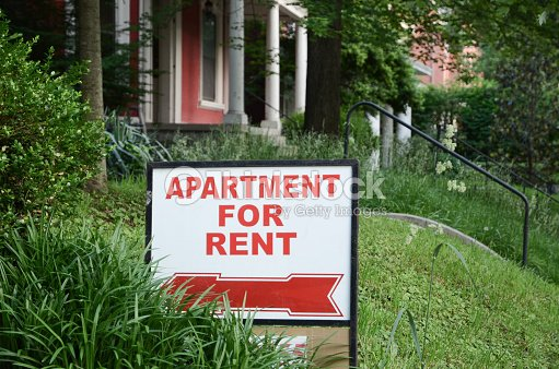 Rental Sign : Stock Photo