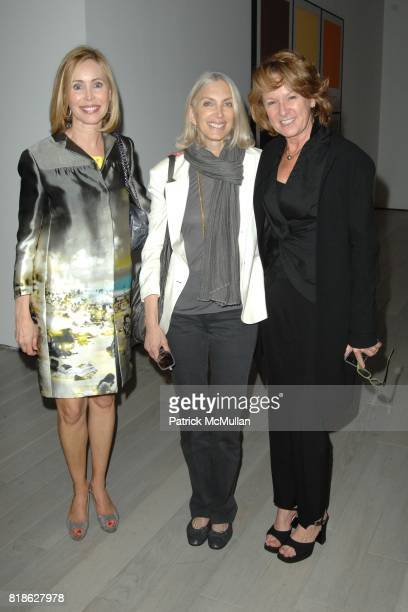 Renvy Graves Pittman Barbara Guggenheim and Annie Philbin attend 'John Baldessari Pure Beauty' at LACMA at Los Angeles County Museum of Art on June...